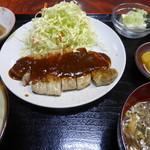 萬福や - 料理写真:肉定食(スタミナ)