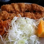 金屋食堂 - 「チキンカツ定食」(650円)