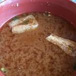 金屋食堂 - 味噌汁