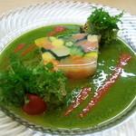 30375205 - 2014.9 魚介と野菜のテリーヌ