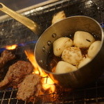 焼肉 三四郎 - ニンニク