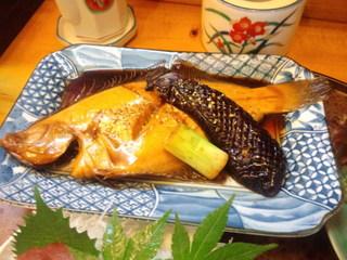 なかむら - カレイの煮付け(2014.8月)