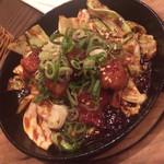 肉食酒場 garu - 上ホソの味噌だれ鉄板焼き(750)