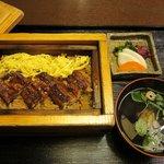 うなぎ処 柳川屋 - セイロ蒸し 竹 1470円