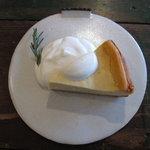 アオイクカフェ - ベイクドチーズケーキ
