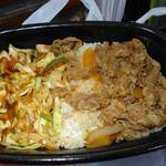 すき家 - コクみそ野菜牛丼 2014年9月