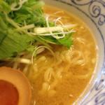 鶏骨スープ 青桐 - 140903 鶏骨醤油ラーメン