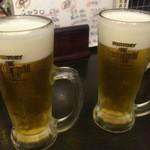 きむら屋 - ビールでかんぱーい!!