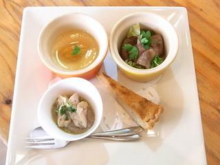 Brasserie24℃ - お昼のおまかせコース¥3800の前菜盛り合せ☆♪