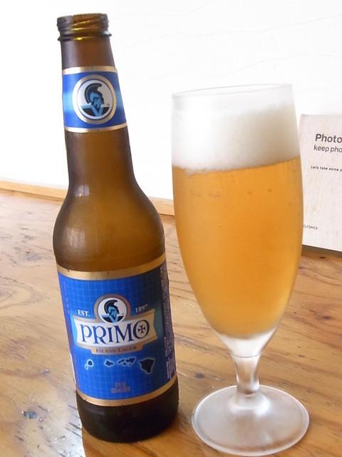 Brasserie24℃ - プリモ(ハワイアンラガー)¥620(税別) 炭酸強め・アルコール5%☆♪
