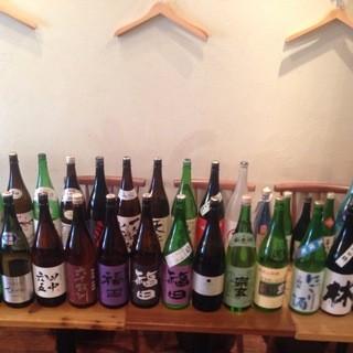 九州日本酒多数ご用意しております。