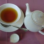 カフェテラス銀木犀 - ホットミルクティー