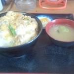 定食屋菜 - カツ丼 720円