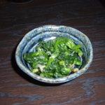 しょっぽ家 - お通し 菜の花のおひたし