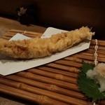 四季瀬戸の味 たにた - あなごの天ぷら