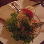 Københavner Cafeen - 料理写真:エビとマヨネーズのスモーブロー