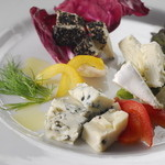 Vano - チーズ盛り合わせ
