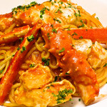 ハーレーパーク - タラバ蟹のトマトソース