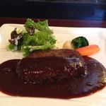 鉄板 松阪屋 - 松坂牛ハンバーグ(ランチ)