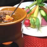 ハーレーパーク - 新鮮野菜のバーニャカウダ
