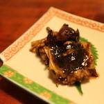 日本料理 梅林 - 鰻のあたまと肝の部分