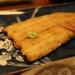 日本料理 梅林 - 青森産天然うなぎの白焼き