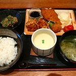 30398857 - フライは、知床鶏ザンギ、帆立フライ、ほっけフライ・2014/8