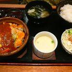 30398864 - 【鮭ちゃんちゃん焼定食…1,280円】2014/8