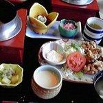 3040350 - 鯛釜飯と唐揚げ定食