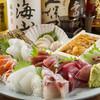 活魚 旬菜 串焼き処 鳥まさ - 料理写真:刺身の盛り合わせ一例です。光り物や貝類等お好みがあればお伝えください。