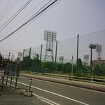ぎょらん亭 - 丁度北九州市民球場では高校野球の試合をやってました 【2014年7月】