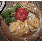 グロリアスチェーンカフェ 心斎橋 - Egg benedict ¥1,230