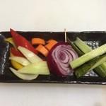 あおば - 彩り野菜の自家製ピクルス