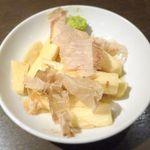 四文屋 - 長芋正油づけ¥150 2014.8.16