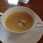 コックドールかげやま - セットのカップスープ