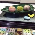 甘春堂 - 和菓子作り体験教室(見本)