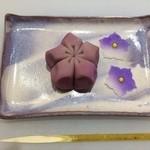 甘春堂 - 作った和菓子
