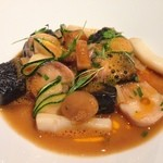 30413858 - スープ 新鮮な魚介類のブイヤベース仕立て
