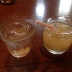 サッドカフェ - グレープフルーツジュース