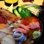 30415503 - 海鮮丼 ランチ  1080円