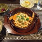 洋-HIRO- - 煮込みトロたまハンバーグ(1,530円)