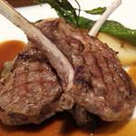 ビストロ カシュ カシュ - オーストラリア産子羊のグリル レモンバームの香り