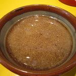 らーめん 元亀 - つけ麺のタレです。
