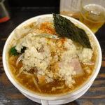 心や - らあ麺(彦摩呂) 740円 + 麺大盛 100円