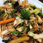 中華料理 とき - 野菜炒めのアップ