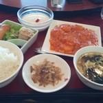 30423054 - エビチリ定食(1,620円)
