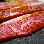 炭火焼肉 とさや - 黒毛和牛 上カルビアップ