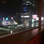 コンシールカフェ・サクラガオカ - 確かに夜景は綺麗