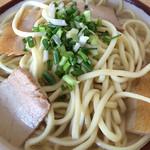 宮古食堂 - そば(中)350円