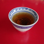春香楼 - 2014.06_食後のウーロン茶